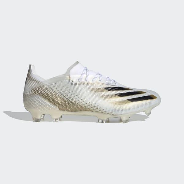 analogía película explotar  adidas X Ghosted.1 Firm Ground Boots - White | adidas UK