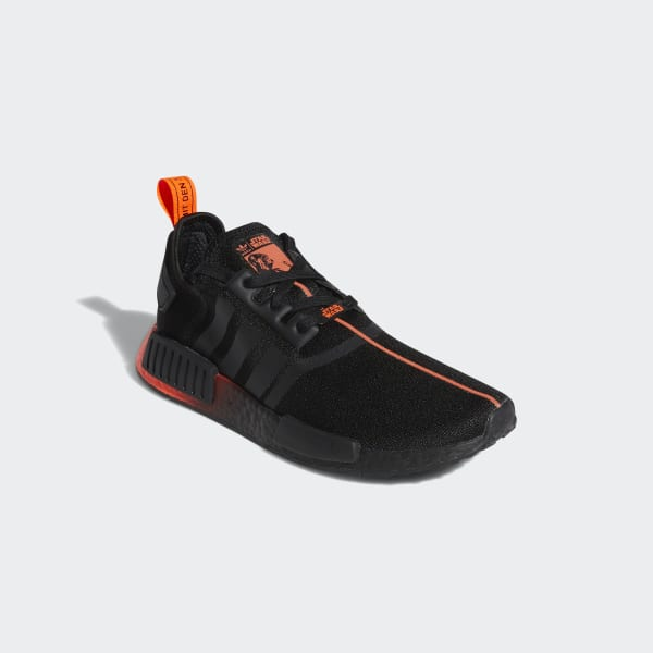 Star Wars NMD R1 Core Black and Red Shoes | adidas US