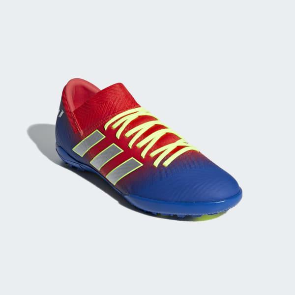 f5cf94b412c adidas Nemeziz Messi Tango 18.3 Turf Shoes - Red