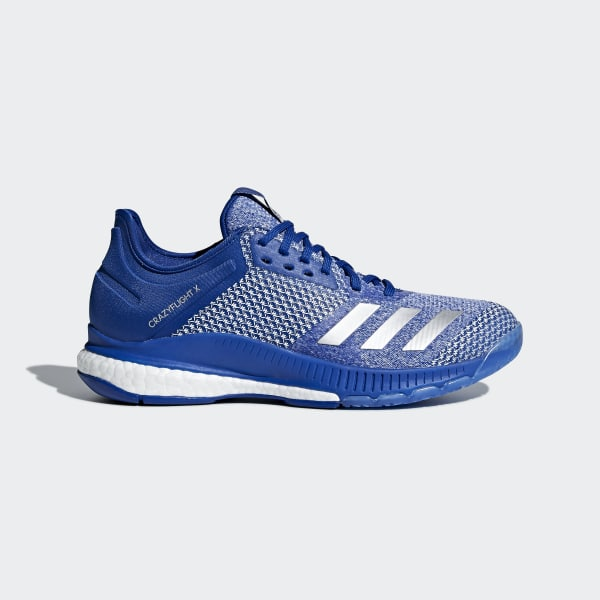 adidas Crazyflight X 2.0 Shoes - Blue | adidas US | Tuggl