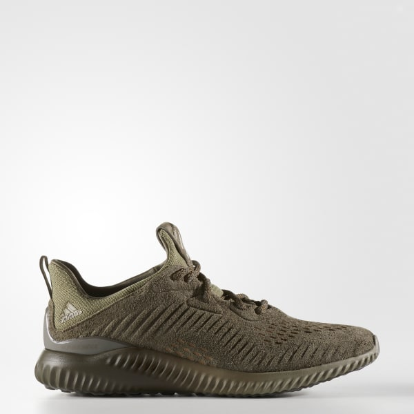 6b4c92bb68a31 adidas alphabounce Leather Shoes - Green