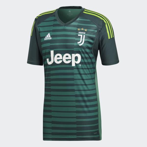 save off 1cbf9 57b8c adidas Juventus Goalkeeper Jersey - Green | adidas UK