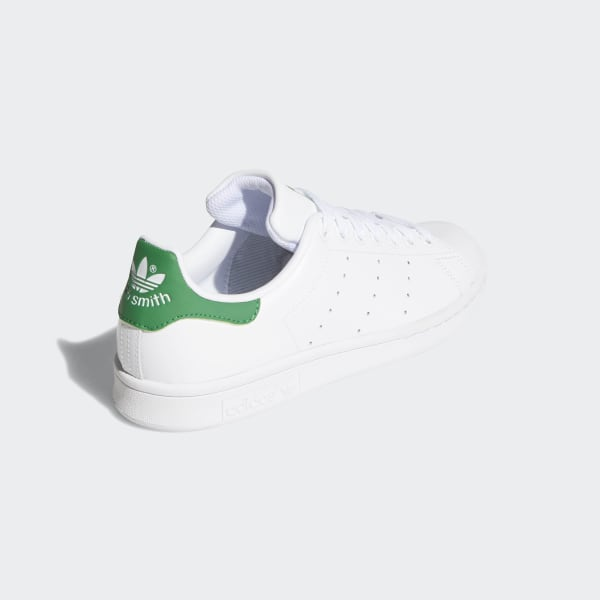 Nevada Visible jazz  Women's Stan Smith Cloud White and Green Shoes | adidas US