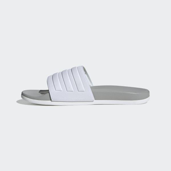 adidas Adilette Comfort Slides - White
