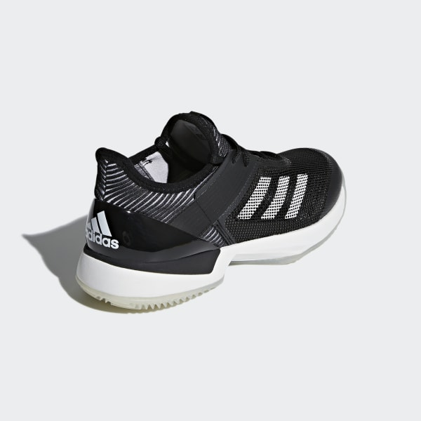 low priced e0faa c38cd adidas Adizero Ubersonic 3.0 Clay Shoes - Black  adidas UK