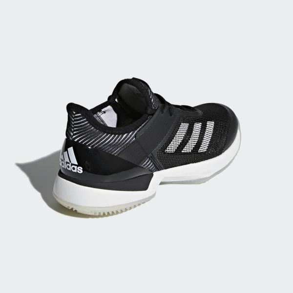 top fashion d0b50 32f39 adidas Adizero Ubersonic 3.0 grusbanesko - Sort  adidas Denm