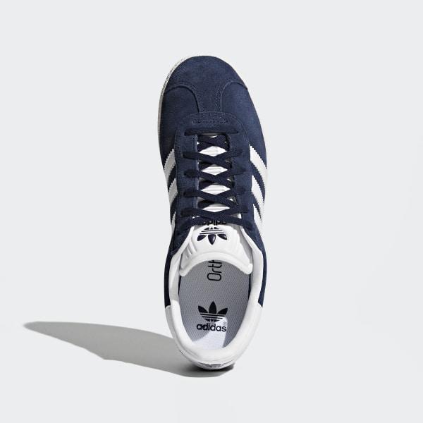 Zapatillas Gazelle azules y blancas para niños | adidas España