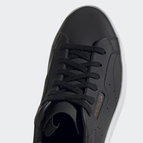 adidas sleek trainers black