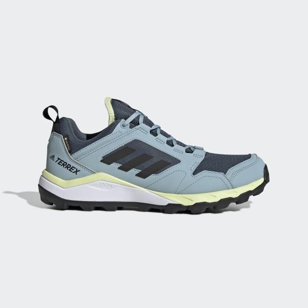 Lugar de nacimiento Adaptado Aplicando  adidas Terrex Agravic TR GORE-TEX Trail Running Shoes - Green | adidas  Canada