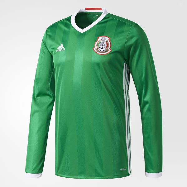 2b62363d9f63a adidas Jersey de manga larga local Selección México 2016 - Verde ...