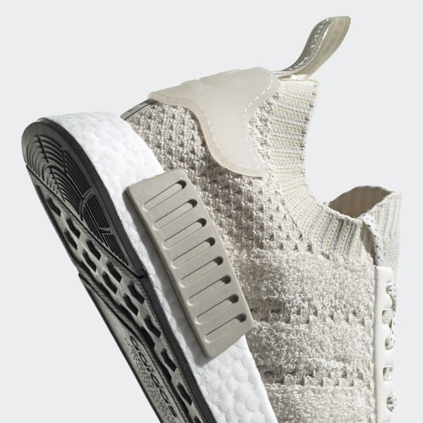 adidas nmd r1 primeknit chalk white