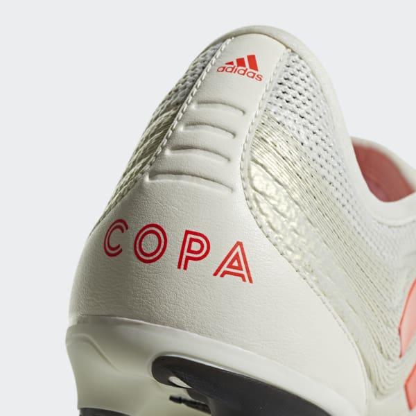 Bota de fútbol Copa Gloro 19.2 césped natural húmedo - Blanco adidas ... 806ca6cf48816