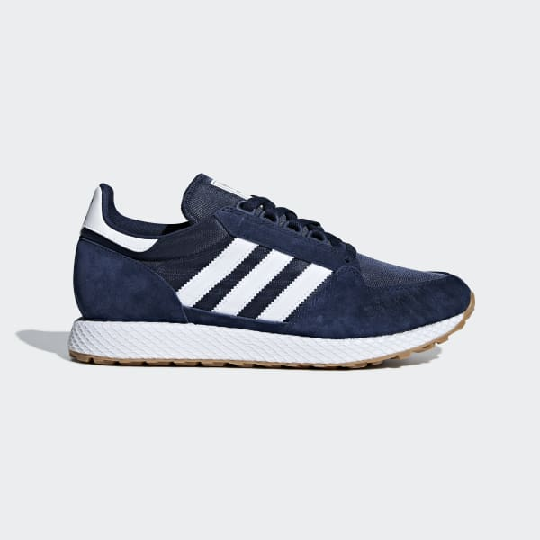 Adidas Forest Grove Uomo Blu CG5675 Romano Shoes