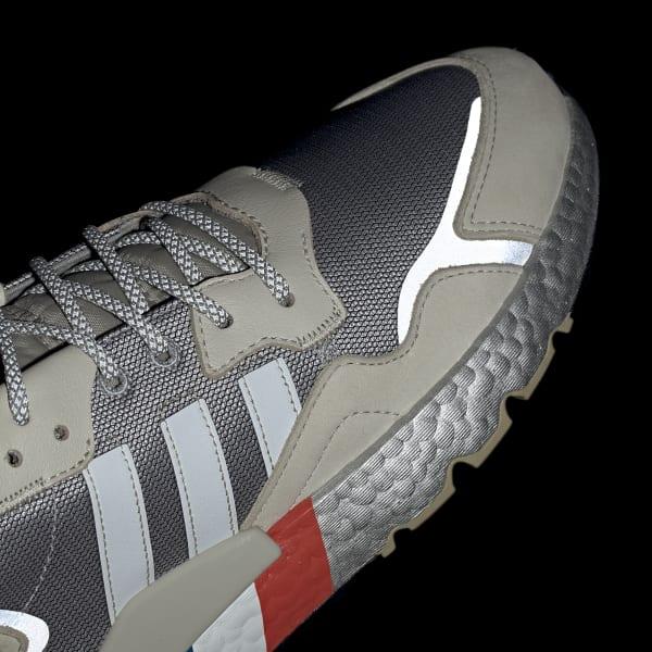adidas Nite Jogger Shoes - Silver