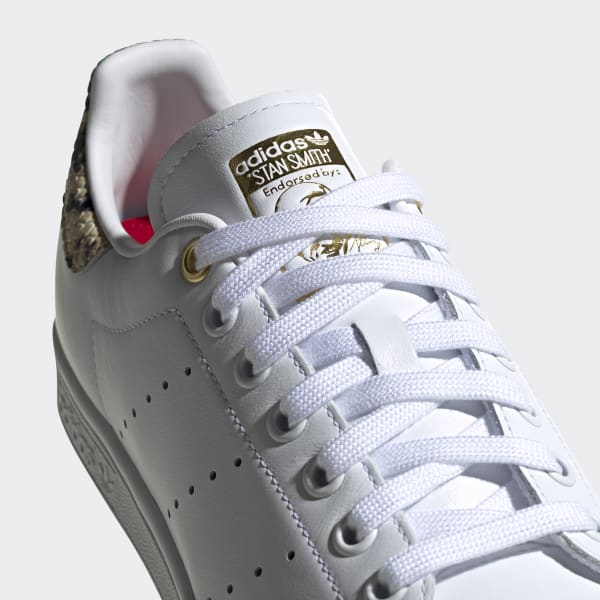 adidas stan smith scarlet gold