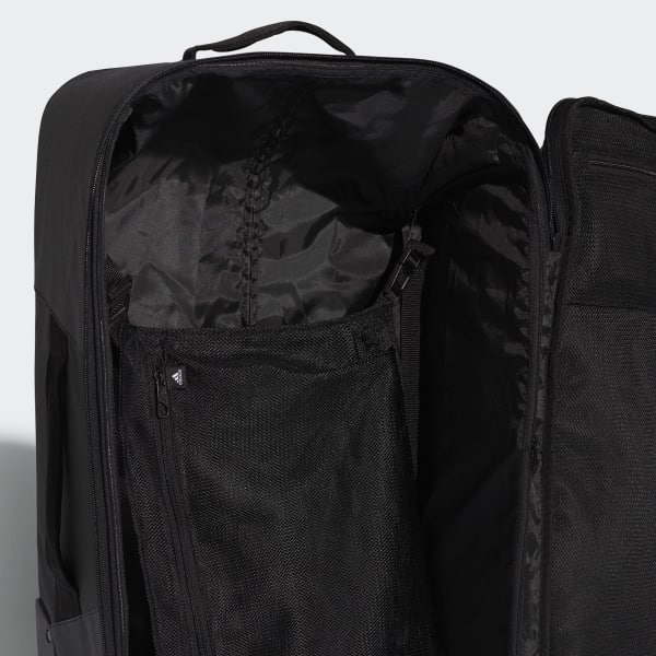 Punto de partida Dictado doblado  Bolsa Trolley con ruedas mediana negra y blanca | adidas España