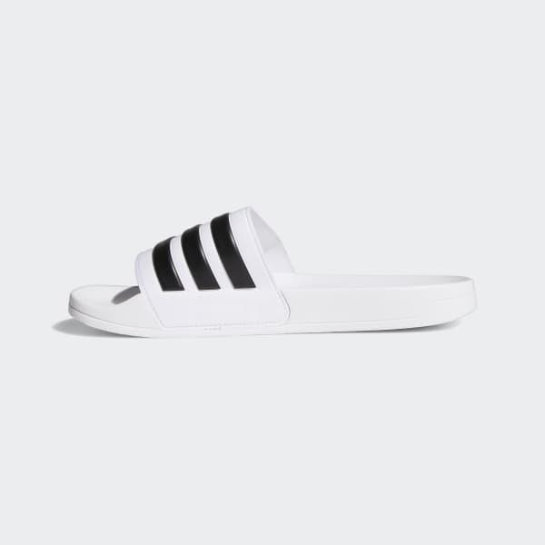 1c9e8b0708ce8 adidas Adilette Cloudfoam Slides - White