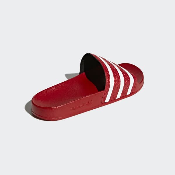 bc3a3bbb3832 adidas adilette Slides - Red