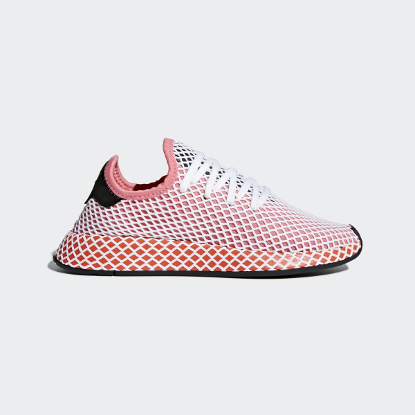 adidas Deerupt Runner Shoes - Pink | adidas US | Tuggl