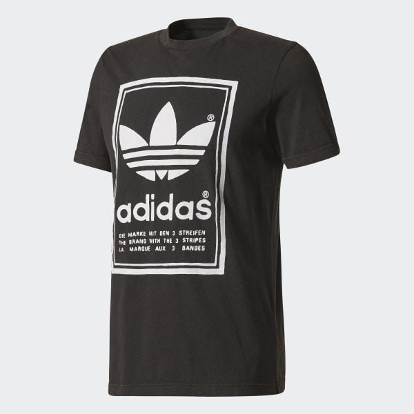Camiseta Japan Archive - Preto adidas  5e04b4d4bb950