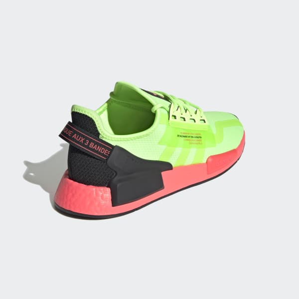 adidas NMD_R1 V2 Shoes - Green   adidas