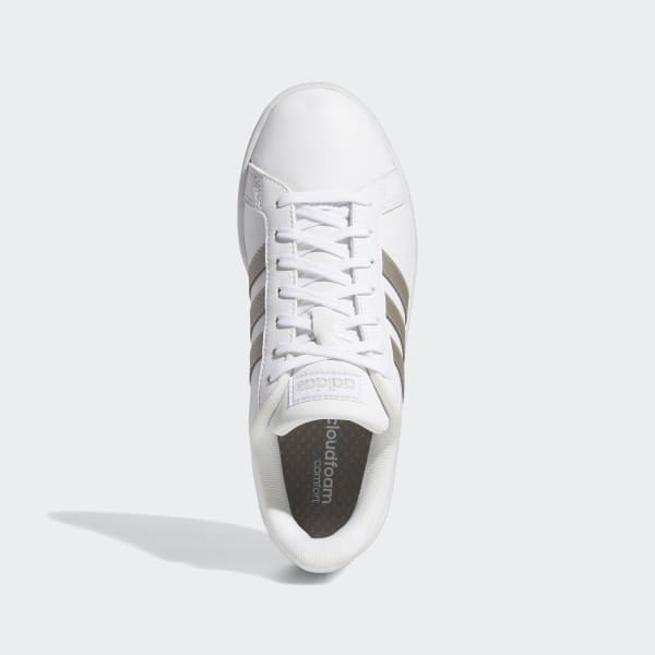 polla Atlas margen  adidas Grand Court Shoes - White | adidas UK