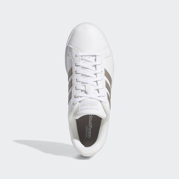 Tênis Adidas Grand Court Base Branco Masculino