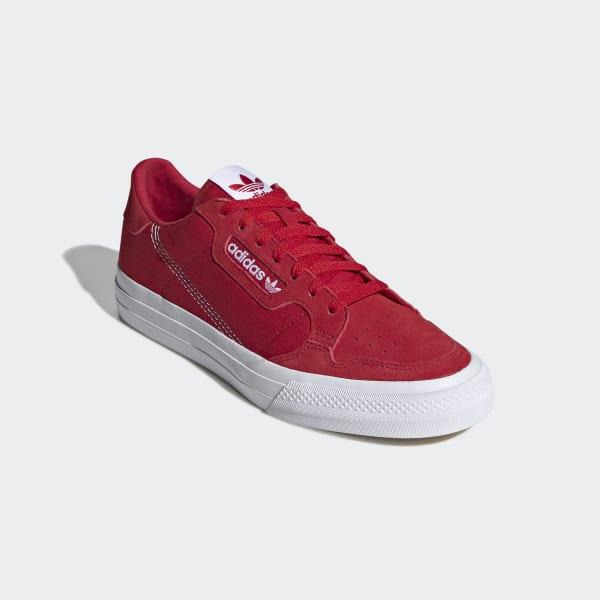 Scarpe Continental Vulc Rosso adidas | adidas Italia