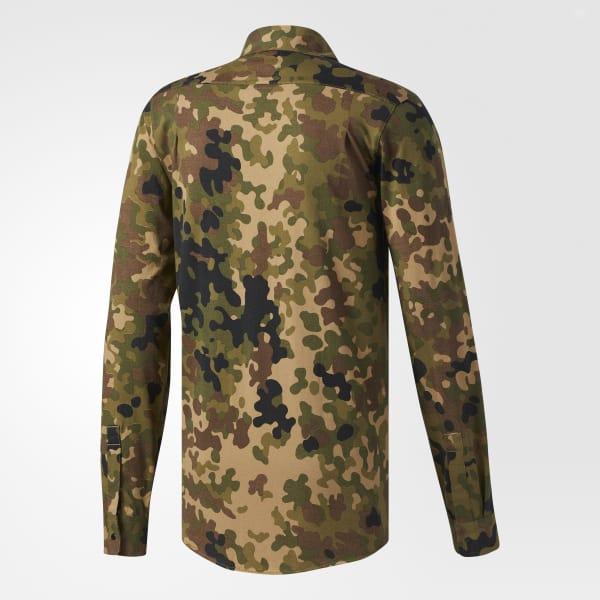 adidas Flex Camouflage Shirt Green | adidas US