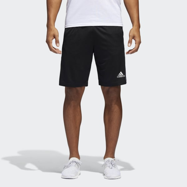 adidas D2M 3 Stripes Shorts Black | adidas US