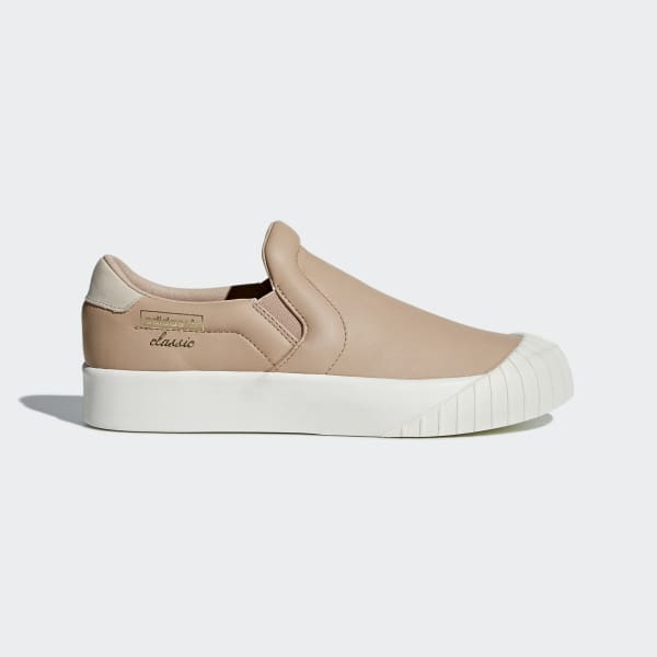 adidas Everyn Slip-on Shoes - Pink | adidas US | Tuggl