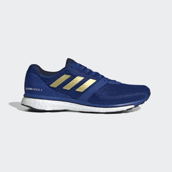 adidas Adizero Adios 4 Shoes - Blue