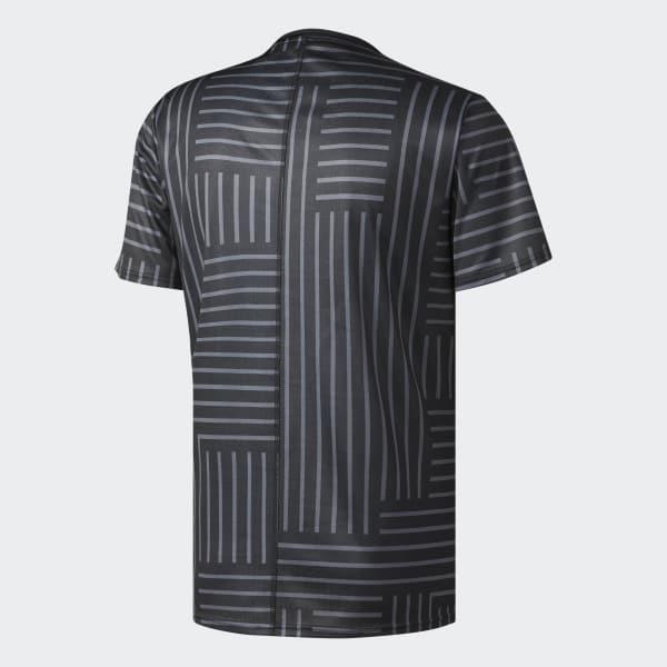 0b1e15fb9d276 adidas Camiseta Response Printed - Negro