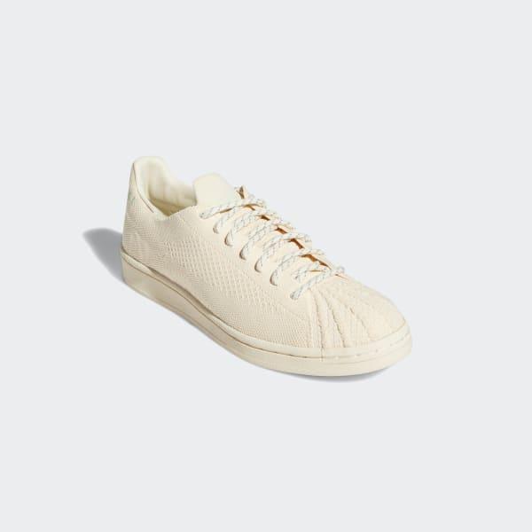 adidas Pharrell Williams Superstar Primeknit Shoes - Beige   adidas US