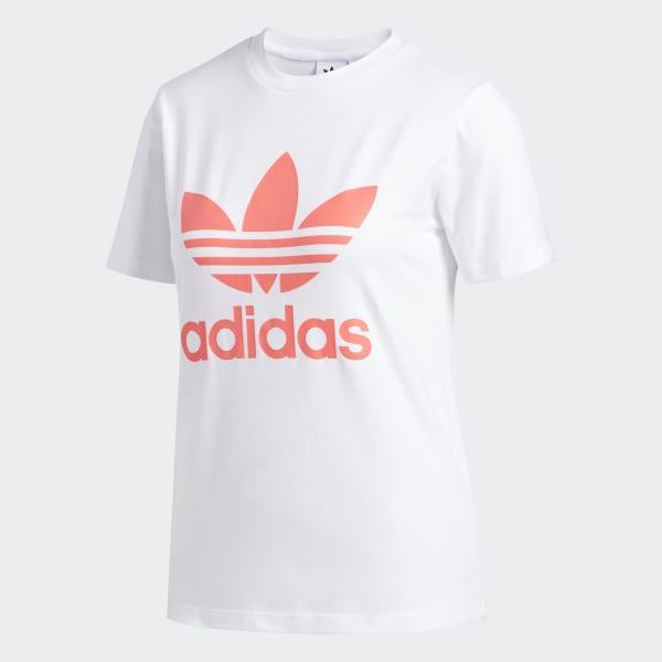 adidas London Trefoil T Shirt Weiß | adidas Austria