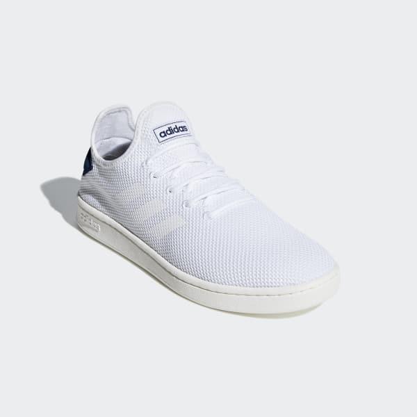 Tênis Adidas Court Masculino Preto e Branco | Tenis adidas