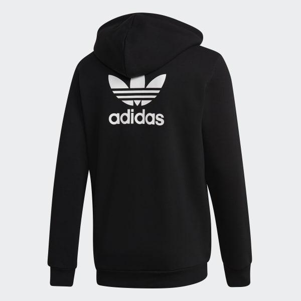 terciopelo flor difícil  Men's Originals Fleece Hoodie in Black | adidas US