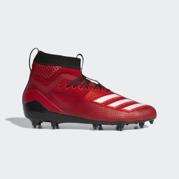 adidas Adizero 8.0 SK Cleats - Red