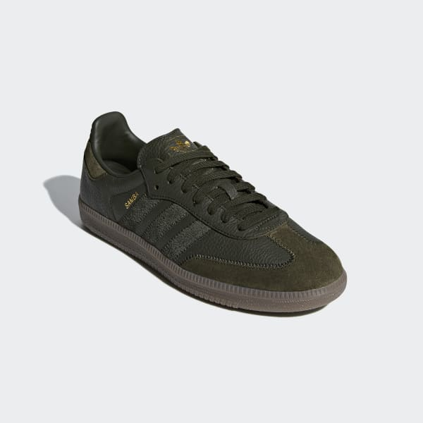 adidas Samba OG FT Shoes - Green | adidas US