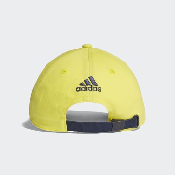 2b3bda4a674fd adidas Colombia 3-Stripes Hat - Yellow