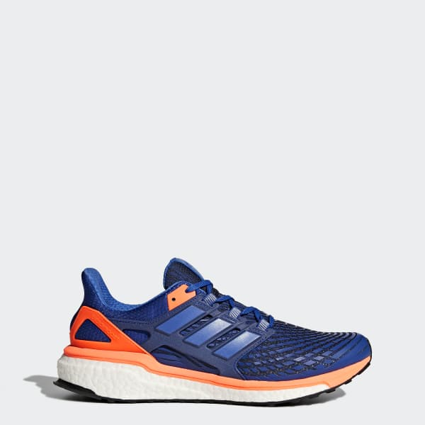 Discount Sale Men Adidas Energy Boost 3 Running Shoes Blue