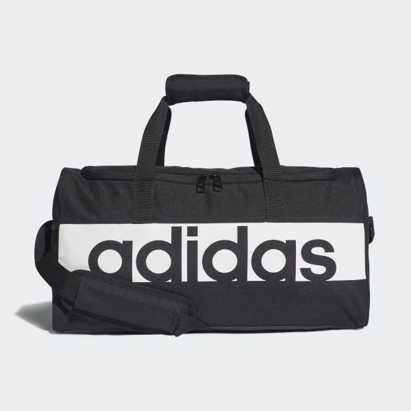 adidas Linear Performance Duffel Bag Small - Black   adidas UK db49cf1604