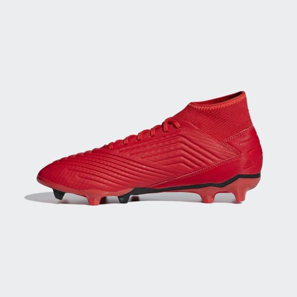87ec96a352f78 CHUTEIRA PREDATOR 19 3 FG - Vermelho adidas   adidas Brasil