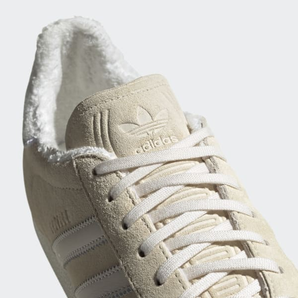 adidas gazelle beige meliert
