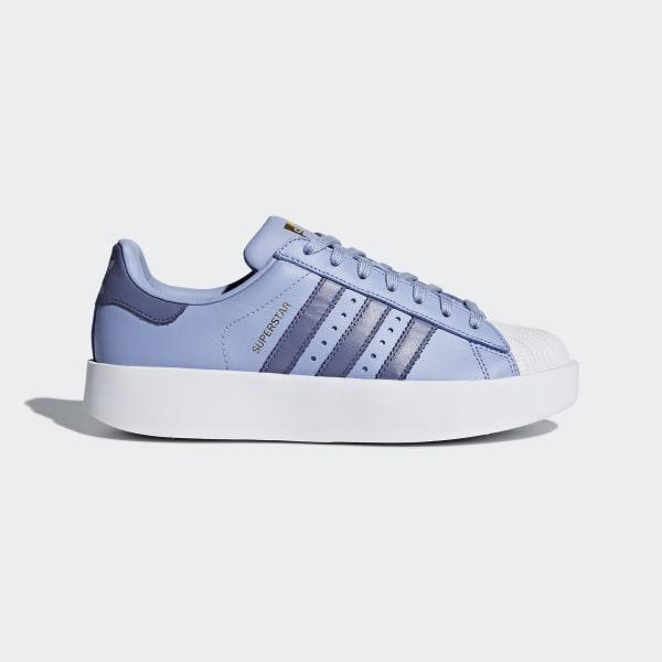 4872106633b8e adidas Zapatillas Superstar Bold Platform - Azul