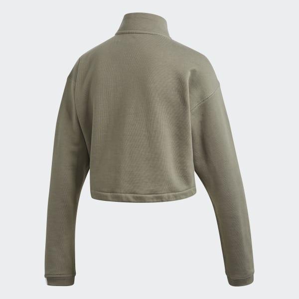 adidas Originals EQT Green Polar Fleece Jacket in 2020