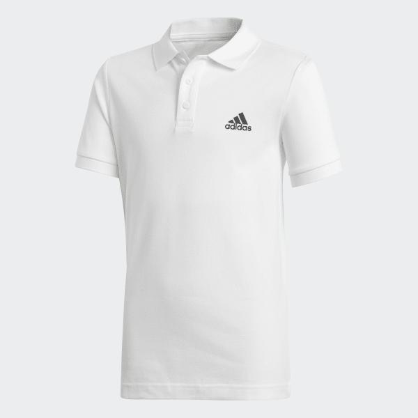 52c5a0311cb37 Camisa Polo Essentials Base - Branco adidas