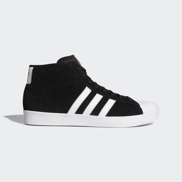 Neu Adidas Pro Model Vulc Adv Weiß Schwarz Turnschuhe