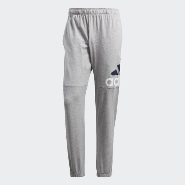 8d560b6458dcee adidas Essentials Performance Logo Hose - grau