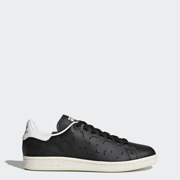 621b42428ae adidas Stan Smith Shoes - Black | adidas UK